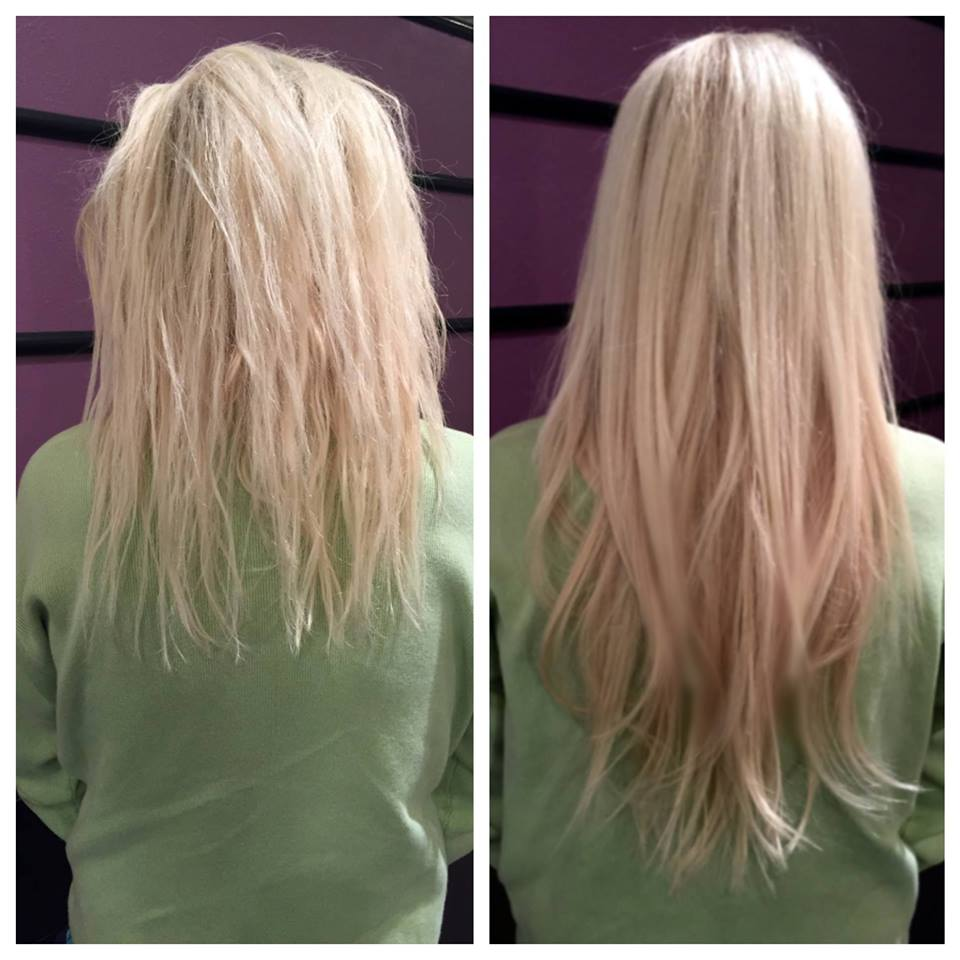 Hair extensions purebeauty 7009721 extensions beforeafter pmusecretfo Images